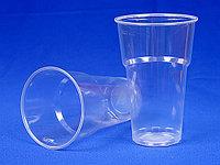 Стакан одноразовый пластиковый 0,5 мл 1*50