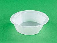 Тарелка суповая одноразовая пластиковая 170 мм 1*100