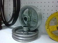 Шкив для вакуумного насоса УВД 10, НВУ 90 на ассенизатор ГАЗ, ЗИЛ, КАМАЗ. Для доечного насоса, фото 1