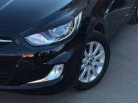 Реснички на фары на Hyundai Solaris\Хюндай Соларис(Акцент) 2010-2014, фото 1