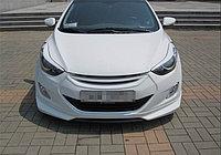 Реснички на фары на Hyundai Elantra\Хюндай Элантра 2011-, фото 1