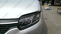 Реснички на фары на Renault Logan/Рено Логан 2014-, фото 1