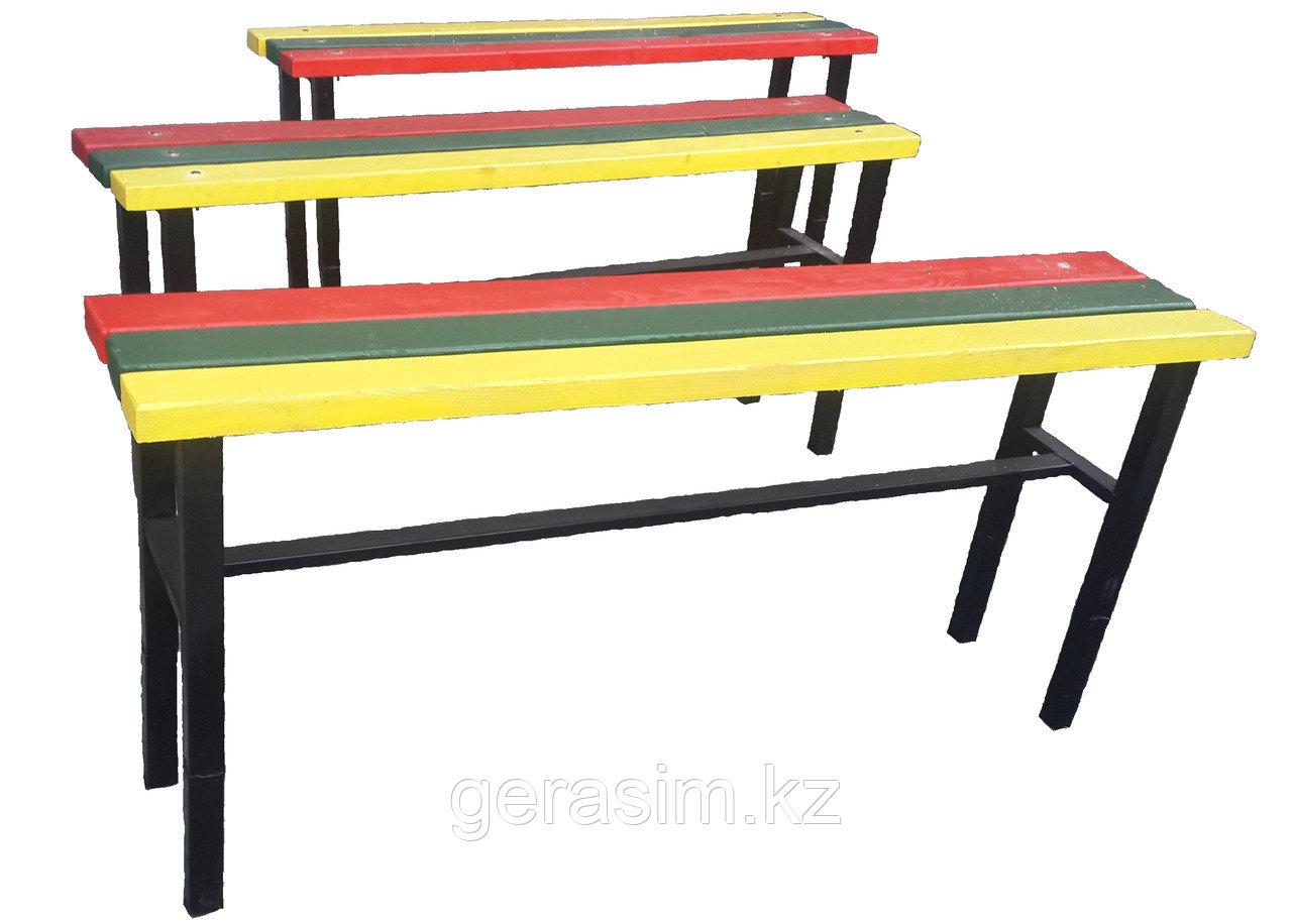 Скамейки для дошкольных учреждений