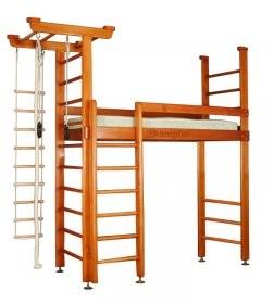 Детская кровать + спортивный комплекс 1.2