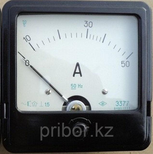 Э377 Амперметр щитовой переменного тока