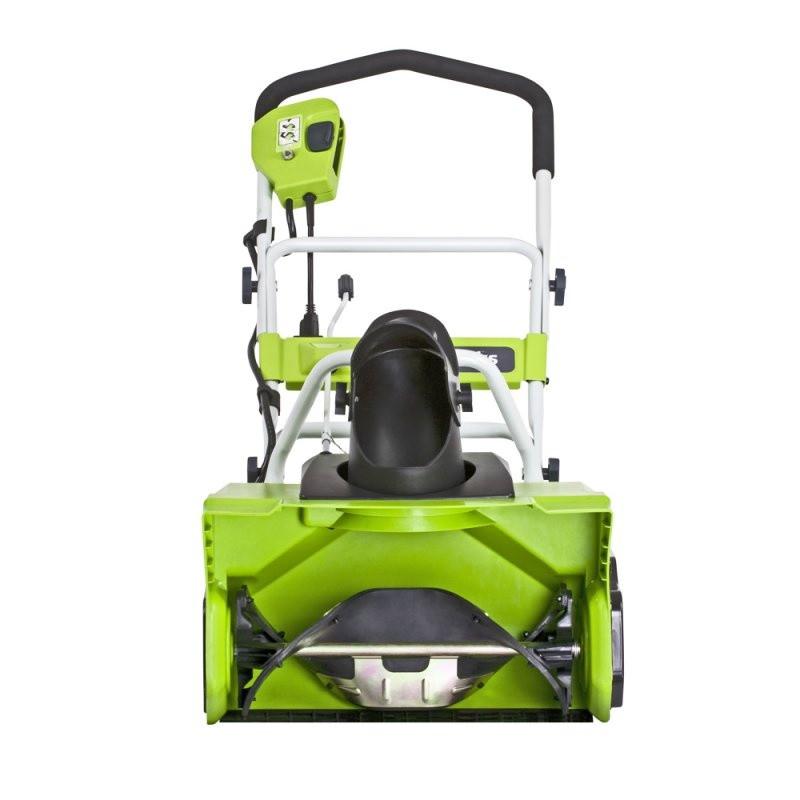 Снегоуборщик электрический Greenworks 12 А 50 см