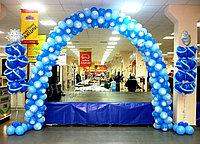 Оформление к новый год шарами в Алматы