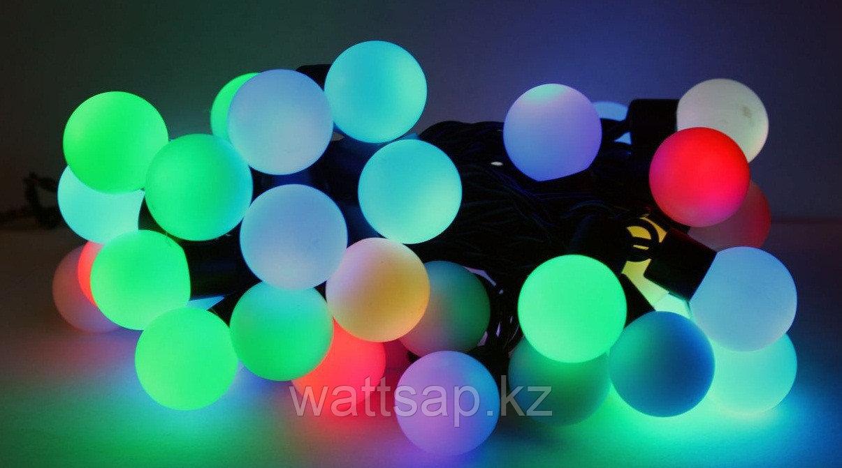 Гирлянда светящаяся (шар 4 см) 5 метров.