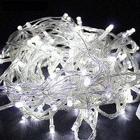 Светодиодная гирлянда LED-KS-60-10M-W 220V белый