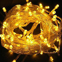 Светодиодная гирлянда LED-KS-60-10M-Y 220V желтый