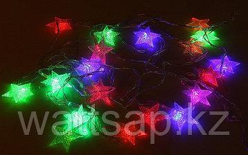 Светодиодная гирлянда LED (звезда)+ контроллер, 4м