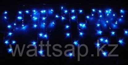Гирлянда СОСУЛЬКИ 80 синих LED-ламп, 2 м