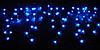 Гирлянда СОСУЛЬКИ 80 синих мигающих LED-ламп, 2 м
