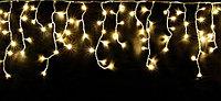 Гирлянда СОСУЛЬКИ 80 теплых белых мигающих LED-ламп, 2 м