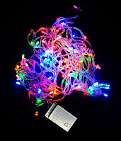 Светодиодная гирлянда LED многоцветная + контроллер, 6 м