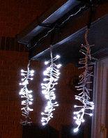 Светодиодная гирлянда Пушистый снегопад,фиолетовый, 3,5м