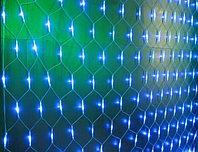 Cветодиодная сетка 2,8 x 2 м, синий, контроллер