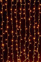 Световой занавес (штора), желтый 2х3 м