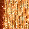 Световой занавес (штора), белый теплый мерцающий 2х3м