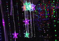 Гирлянда LED String Light (разноцветные звезды), 1,5 м