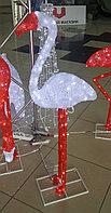 """Акриловая фигура """"Фламинго"""", белый, 0,95м"""