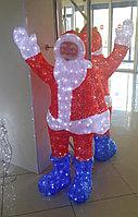 """Акриловая фигура """"Дед мороз"""", 1,8м"""