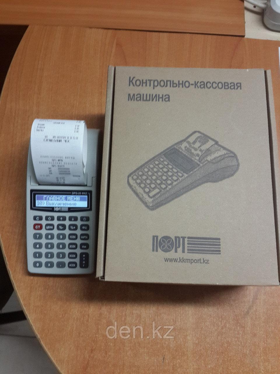 Кассовый аппарат ПОРТ DPG-25 версия онлайн