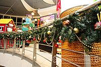 Оформление к новый год магазинов в Алматы