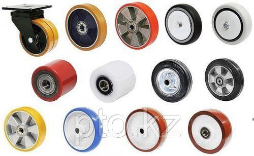 Ролики и колеса для складских тележек