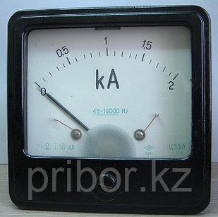 Ц330 Щитовой амперметр переменного тока.