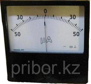М2003 Щитовой микроамперметр постоянного тока.