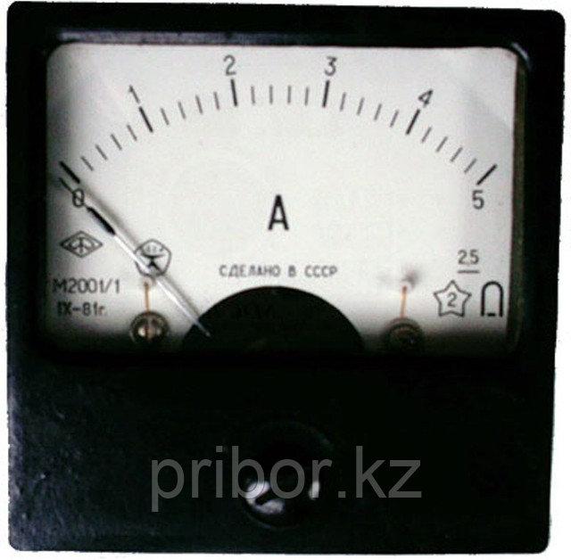 М2001 Микроамперметр, миллиамперметр, амперметр щитовой постоянного тока.