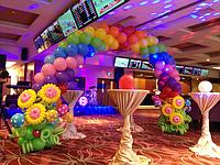 Оформление воздушными шарами в Алматы