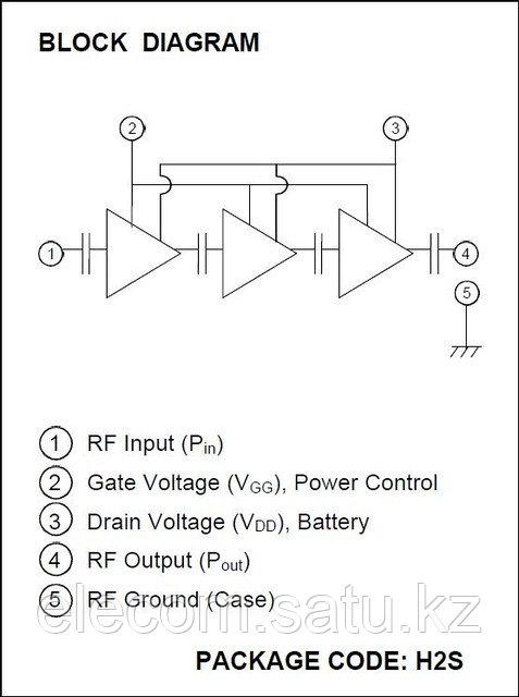 Сборка полевых транзисторов RA18H1213G