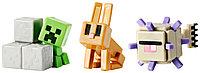 Minecraft mini 4 серия набор Дрквний страж, Подлый Крипер, Кролик