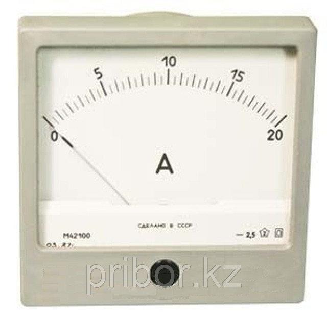 М42100 Щитовой Амперметр, миллиамперметр постоянного тока.