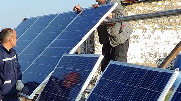Солнечная станция 3,5 кВт 1600 А/ч аккумуляторы 2