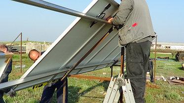 Солнечная станция 3,5 кВт 1600 А/ч аккумуляторы 3