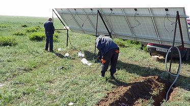 Солнечная станция 3,5 кВт 1600 А/ч аккумуляторы 5