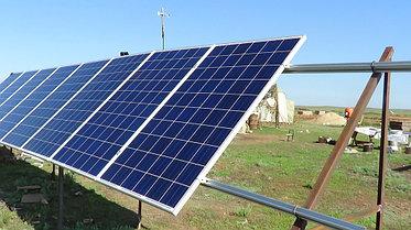 Солнечная станция 3,5 кВт 1600 А/ч аккумуляторы 6