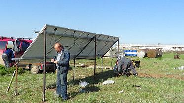 Солнечная станция 3,5 кВт 1600 А/ч аккумуляторы 7
