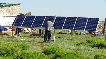 Солнечная станция 3,5 кВт 1600 А/ч аккумуляторы 8