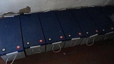 Солнечная станция 3,5 кВт 1600 А/ч аккумуляторы 9