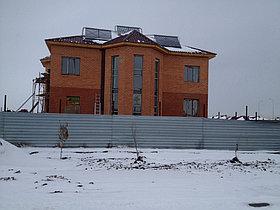 Солнечная водонагревательная система HP90 на ГВС и поддержку отопления, мкр.Уркер, г. Астана 6