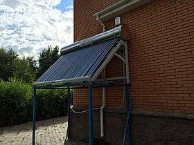 Солнечный водонагреватель пассивный 300л 36 вакуумных трубок, Мечеть, ст. Сороковая 1