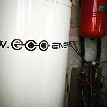 Солнечная водонагревательная система HP110 на ГВС и поддержку отопления, мкр.Уркер, г. Астана 3