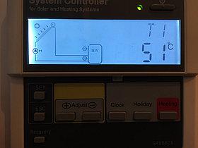 Солнечная водонагревательная система HP50 на ГВС и поддержку отопления, Family Village, г. Астана 11