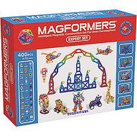 Магнитный конструктор Magformers Expert Set (400 дет +72 доп.элемента), фото 1