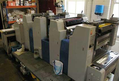 524 HXX, б/у 2001 - 4-красочная печатная машина Ryobi