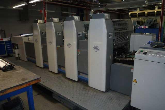 524 GX, б/у 2007г - 4-красочная печатная машина Ryobi